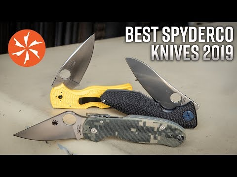 Best Spyderco Pocket Knives In 2019 Available At KnifeCenter.com
