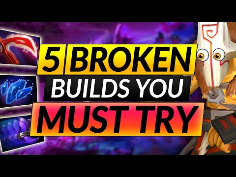 The Insanely Overpowered 7 28 Build You Must Exploit Puck Pro Tips Dota 2 Hero Guide Youtube
