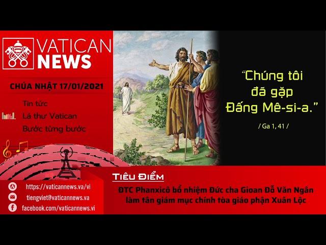 Radio: Vatican News Tiếng Việt Chúa Nhật 17.01.2021