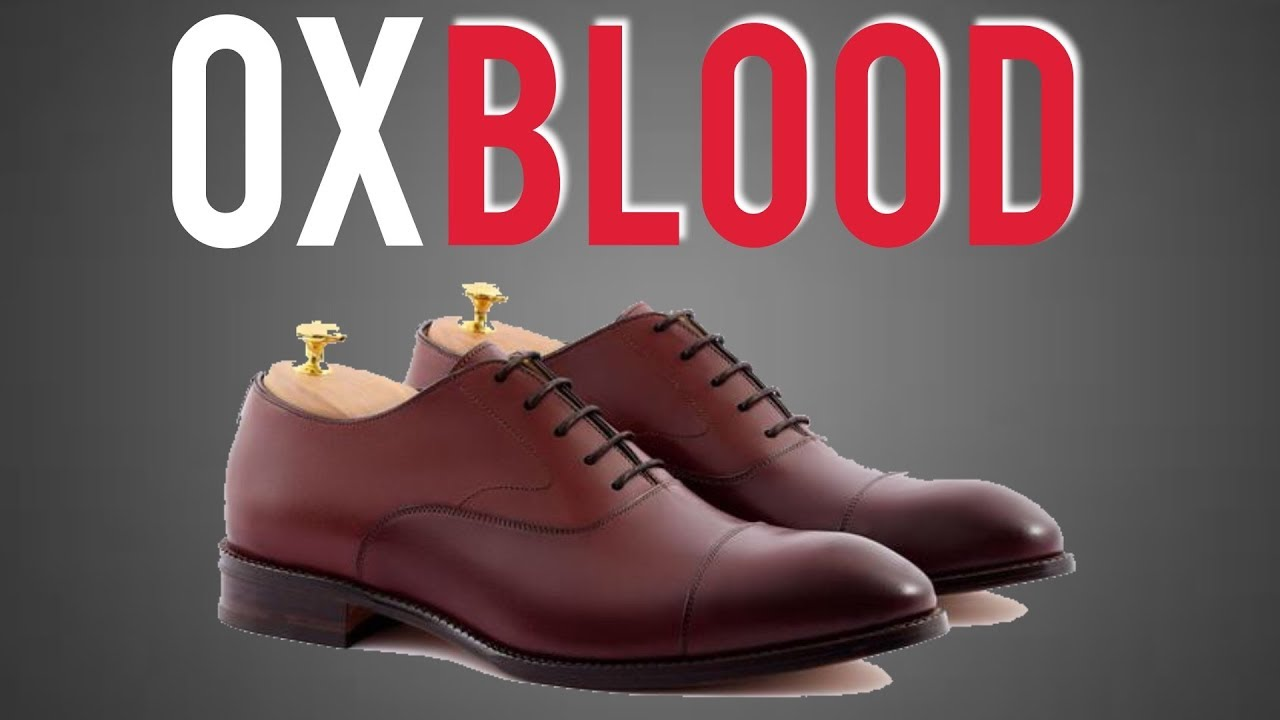 How To Style/Wear Oxblood Shoes (Deep Burgundy)