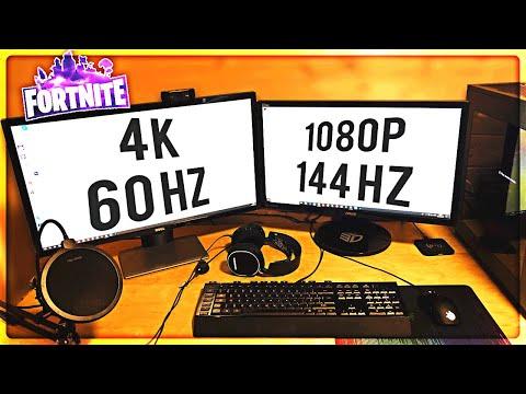 60hz Vs 144hz Fortnite | Fortnite Free Llamas