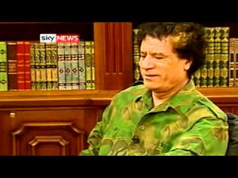 The Fall of Muammar Gaddafi