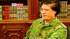 The Fall of Muammar Gaddafi