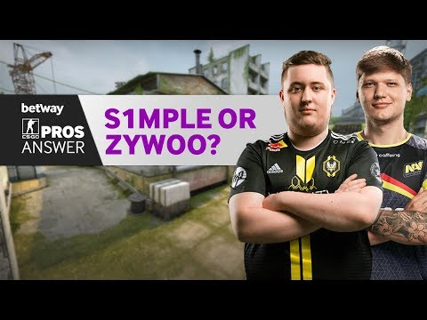 CSGO Pros Answer: S1mple Or ZywOo?