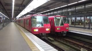 名鉄 5700系 普通 金山行 中部国際空港駅 発車 2017年10月19日