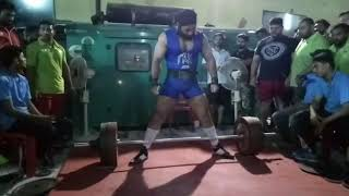 Mr.Gurwinder singh another sr.national record in deadlift 2017
