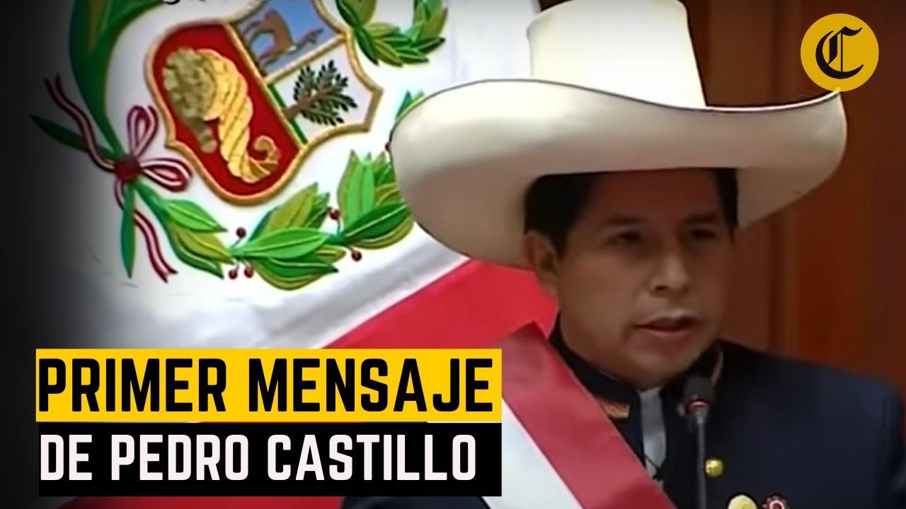 ¿Cuáles fueron los principales anuncios de Pedro Castillo ante el Congreso?