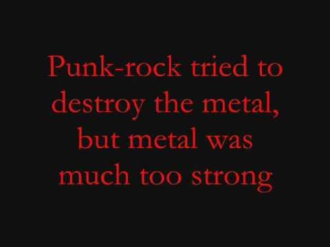 The Metal-Tenacious D Lyrics