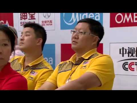 FINA Diving World Series Springboard 3m Women Sync Beijing 2014
