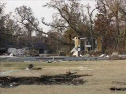 Pascagoula after Hurricane Katrina