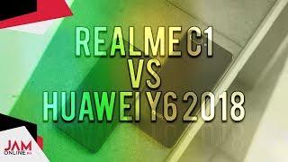 Realme C1 vs Huawei Y6 2018 Comparison