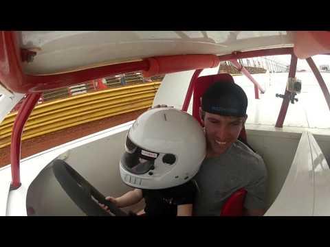 Rayleigh Faircloth Ride along at Swainsboro Raceway