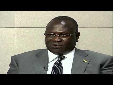 Riek Machar UN Interview - South Sudan