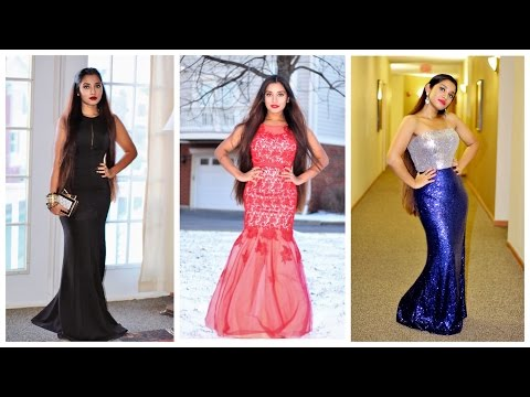 Ever - pretty look book | Online cheap prom & evening gown try on haul.