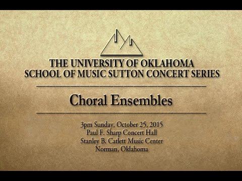 Choral Ensembles - Sutton Concert Series