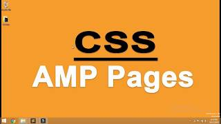 How to use CSS in AMP Pages  |  CSS calling in AMP pages  | Yuvraj Academy