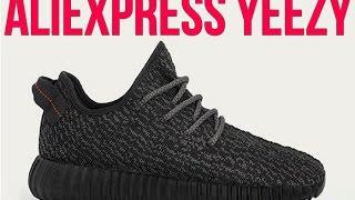 AliExpress Adidas Yeezy 350 Boost Pirate Black Replica $40 Review