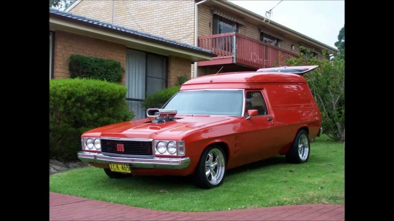 Holden Haven A Panel Van Tribute Youtube