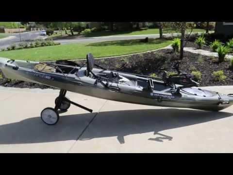 Acessories and mounts for tarpon 120 wilderness systems for Cabela s advanced angler 120 trolling motor