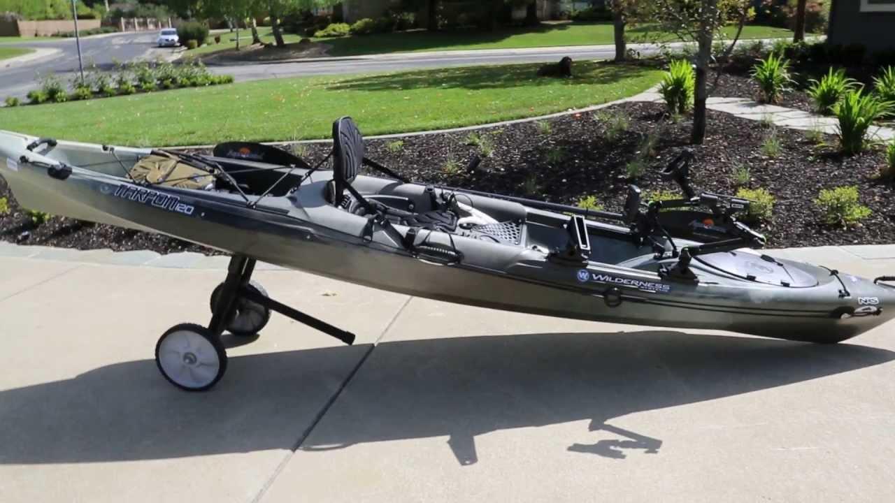 Wilderness Tarpon 120 Ultimate Fishing Kayak Youtube