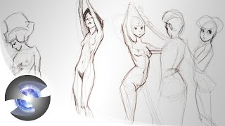 Figure Drawing Demo ( Female )