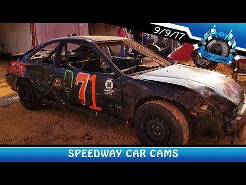 #D71 Tim Davis - Front Wheel - 9-9-17 Fort Payne Motor Speedway - In Car Camera