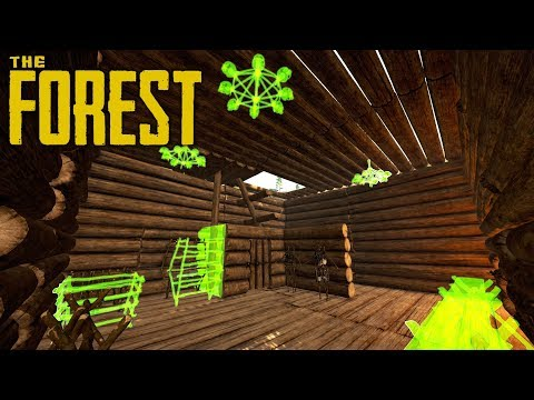 STORAGE ROOM FIRST FLOOR | The Forest | Let's Play Gameplay | S14E10