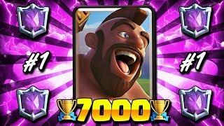 MY ULTIMATE CHAMPION 7000+ TROPHY LADDER DECK!! #1 TROPHY DECK!
