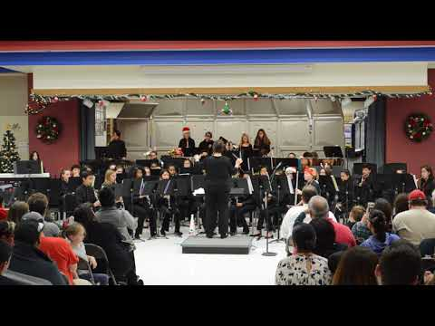 Menifee Valley Middle School Symphonic Band - Nov. 29, 2017