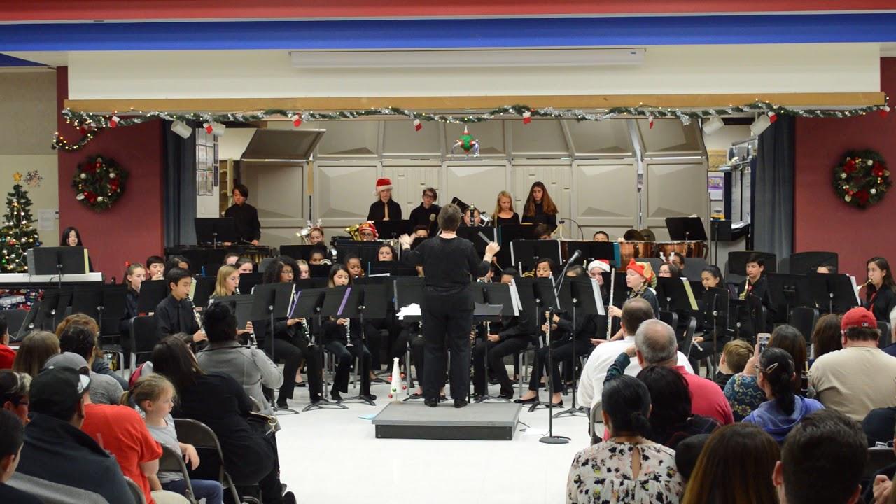 Menifee Valley Middle School Symphonic Band - Nov  29, 2017