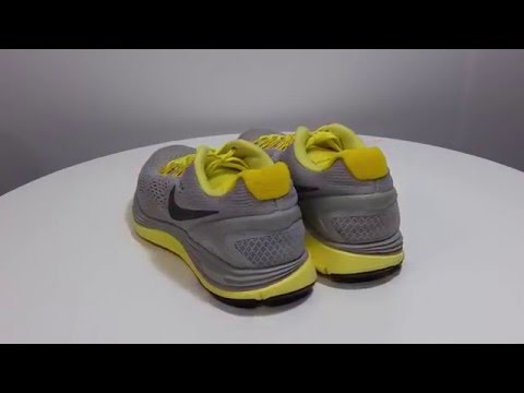 nike-women's-lunarglide-4-yellow-gray-running-training-lunarlon-shoes-size-7.5