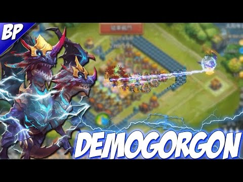 Castle Clash Demogorgon Gameplay! (Double Evolved)