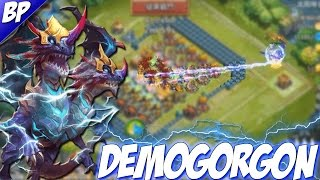Castle Clash Demogorgon Gameplay! (Double Evolved)