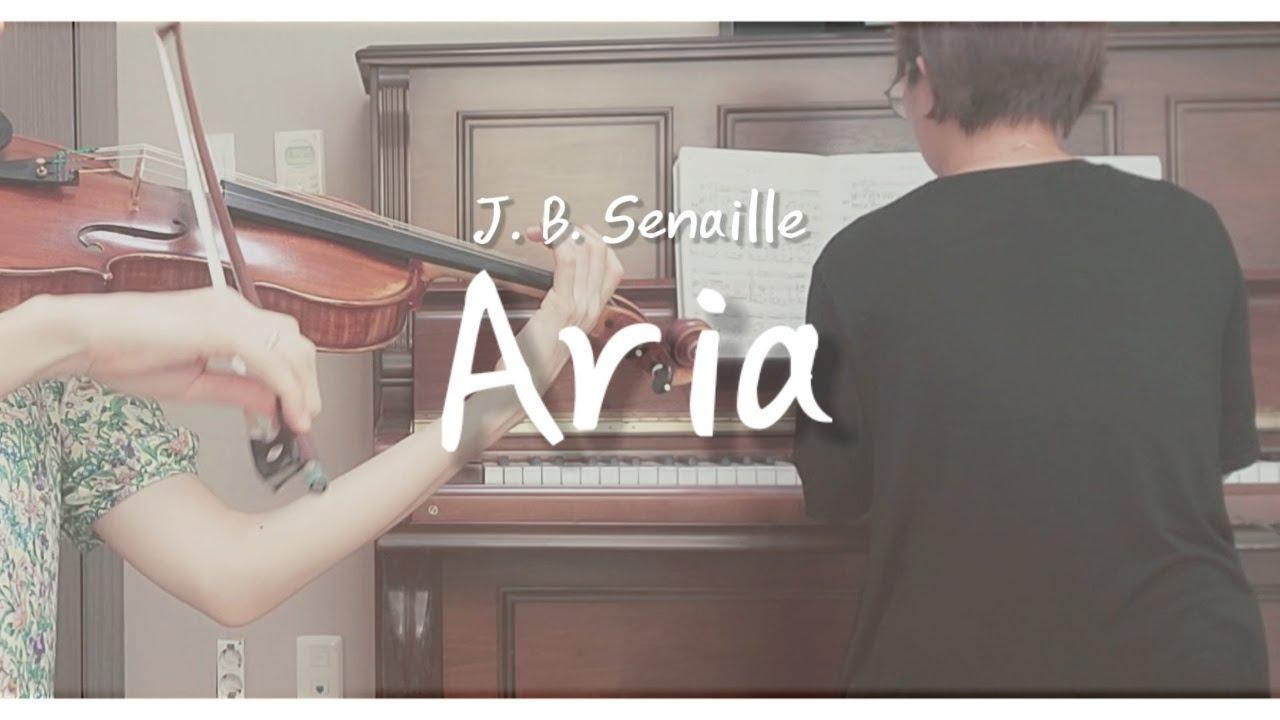 [시노자키바이올린교본2권] J. B. Senille 아리아 Aria Shinozaki Vol. 2