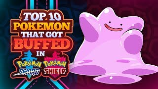 Top 10 Buffs in Pokemon Sword and Shield