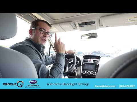 Adjust The Automatic Headlight Settings On Your Subaru Forester