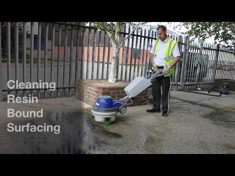 Cleaning Resin Bound Surfacing | Addagrip