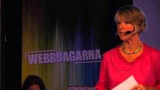 Cecilia Björnstedt på Webbdagarna Göteborg 2011: SEB i sociala medier