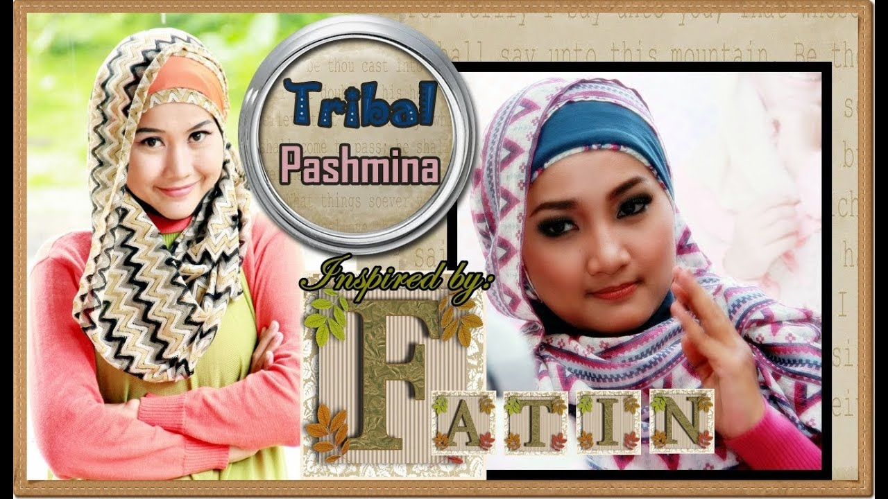 Jilbab Modern Pashmina Tribal Inspired By Fatin Shidqia Part 30