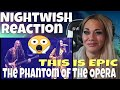 MY FIRST EVER REACTION TO NIGHTWISH PHANTOM OF THE OPERA | JUST JEN REACTS