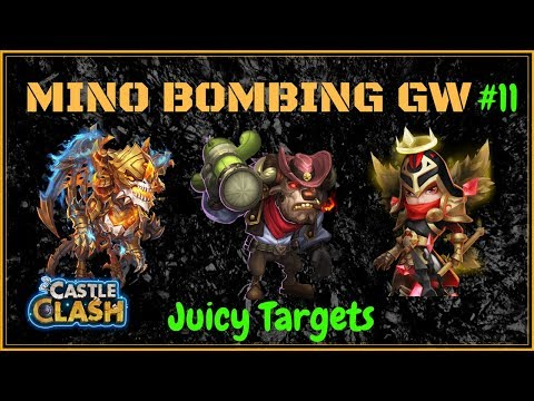 MINO BOMBING WITH SKELETICA - UNCUT - #11 - CASTLE CLASH