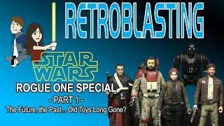 Зоряні Війни Ізгой один спеціальний: частина 1/2 - RetroBlasting іграшки Хасбро коментар