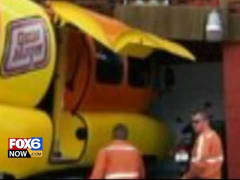 Oscar Mayer Wienermobile Returns To Houston February 7 9 as well Warren Beatty Trivia Notstarring  Movie Trivia additionally Inside Wienermobile in addition Cool And Crazy Food Trucks furthermore I Wish I Were Inside The Oscar Mayer Wienermobile. on oscar meyer weiner car inside