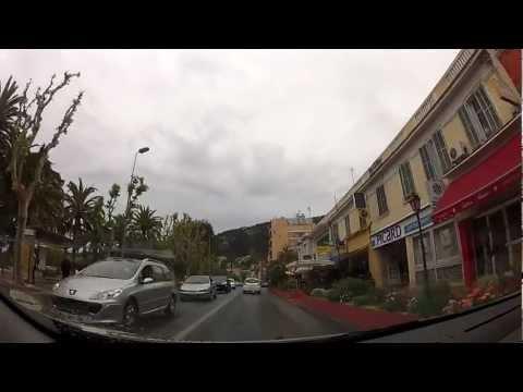 SLOW TV: Villefranche to Nice, Provence-Alpes-Côte d'Azur