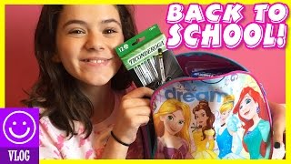 BACK TO SCHOOL SUPPLIES SHOPPING! HAULS!  |  KITTIESMAMA