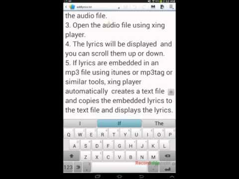 add lyrics to mp3 file directly simple - YouTube