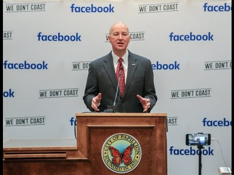 Governor Ricketts on Facebook and OPPD's collaborative effort
