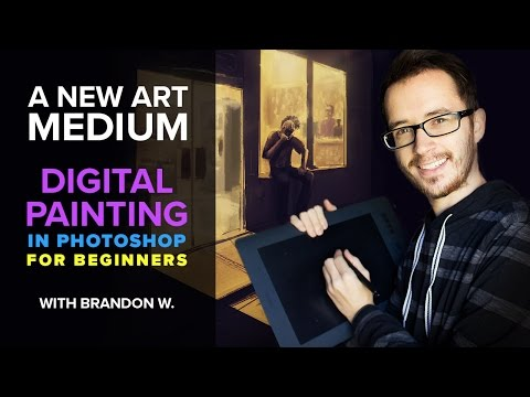 Digital Painting In Photoshop for Beginners