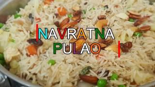 How To Make Navratan Pulao | Delicious Navratan Pulao Recipe In Hindi | नव्रतन पुलाओ