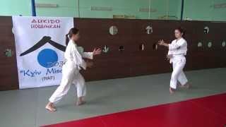 Айкидо уроки 1.(http://www.aikido.ua/kihon Базовые движения айкидо: Кихон Доса. Базовым этапом в специфической методике подготовки..., 2014-06-03T18:04:55.000Z)